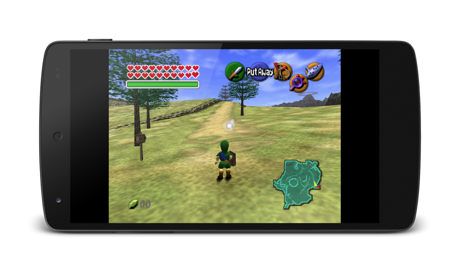 MegaN64 (N64 Emulator) Screenshots 1