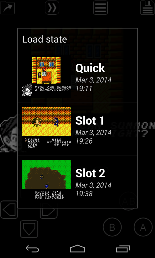 My OldBoy! – GBC Emulator Screenshots 3