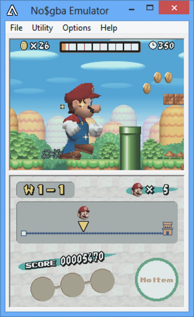 No$GBA Screenshots 2