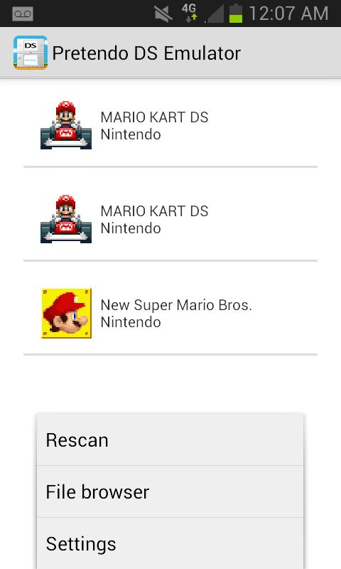 Pretendo NDS Emulator Screenshots 3