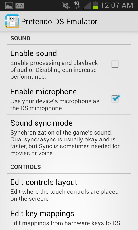 Pretendo NDS Emulator Screenshots 7