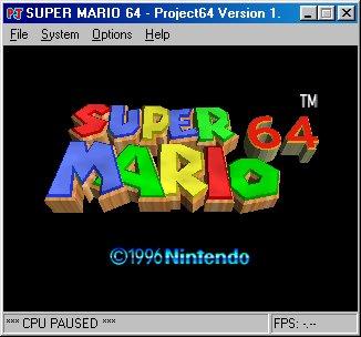 Project64 Screenshots 1