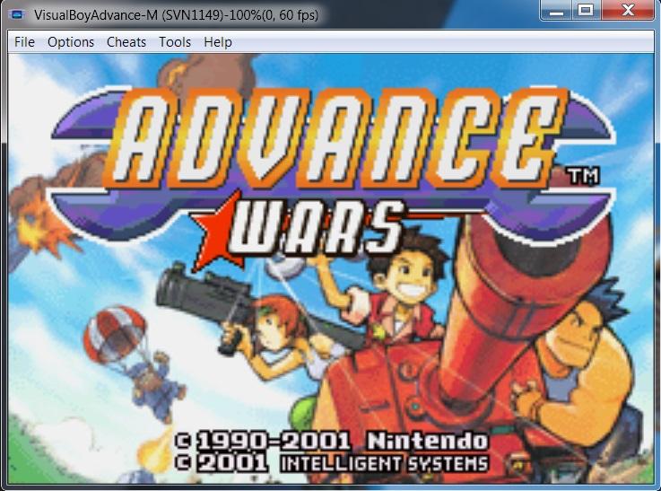 Visual Boy Advance Screenshots 1