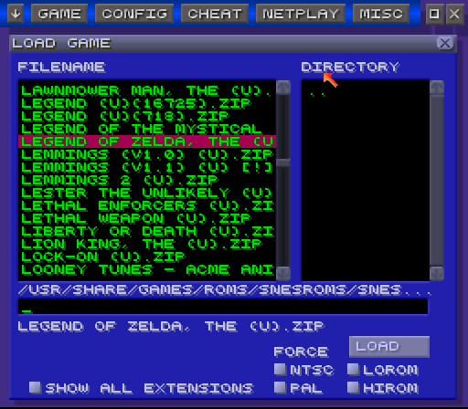 ZSNES Screenshots 6